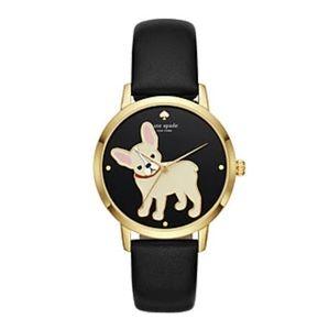 Kate Spade Grand Metro French Bull Dog Watch